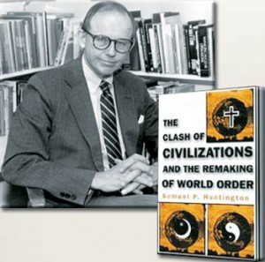 Political scientist Samuel P. Huntington predicted that the Christian west and the Islam will eventually clash.