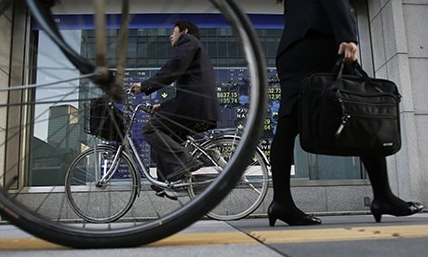 Bikers and pedestrians rule the roost in Japan in spite of the modernity and prosperity.